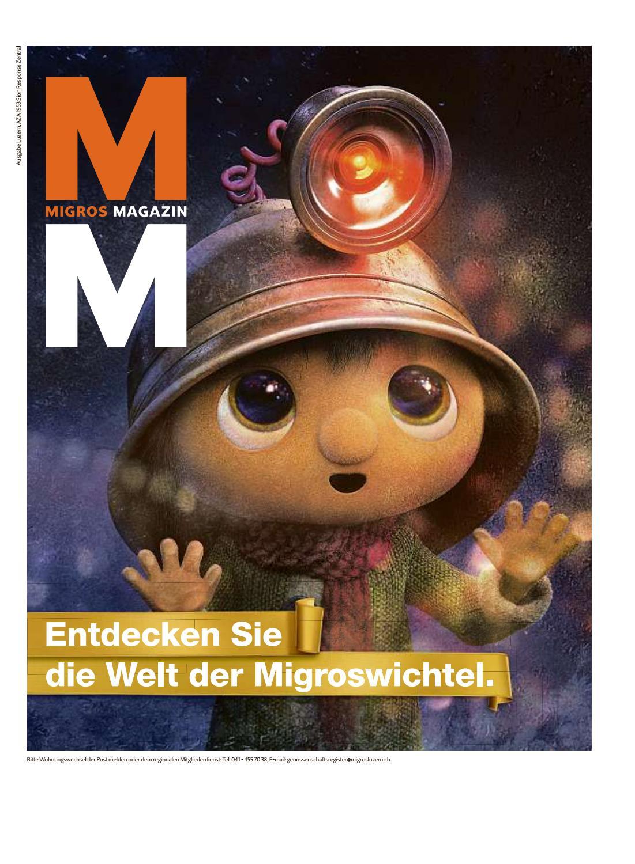 Migros magazin 47 2017 d lu by Migros-Genossenschafts-Bund - issuu