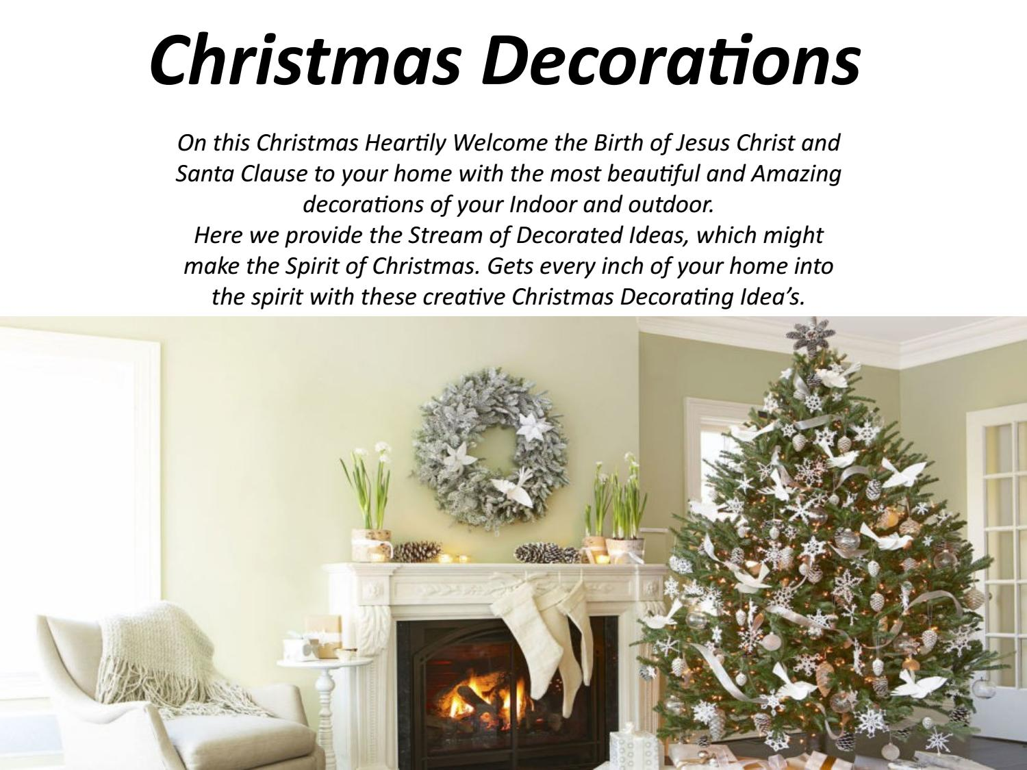 Christmas decorations by 99merrychristmas - issuu