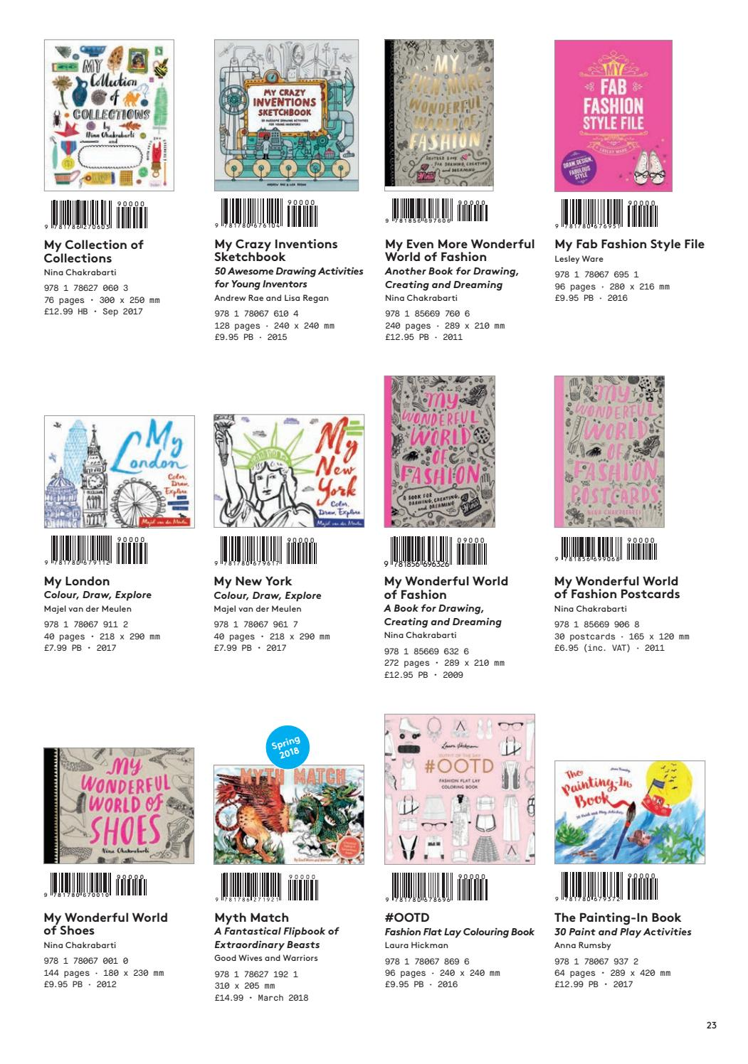 Laurence King Publishing Spring 2018 Childrens Catalogue UK By