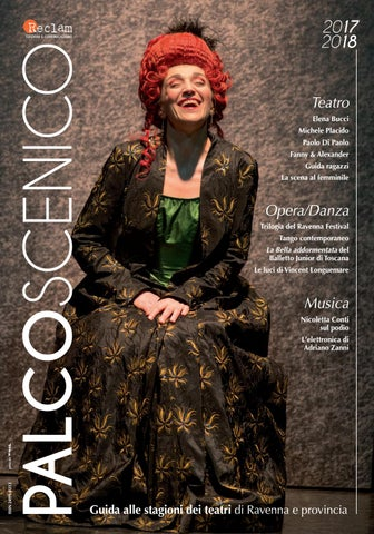 Palcoscenico 2017 18 By Reclam Edizioni E Comunicazione Issuu