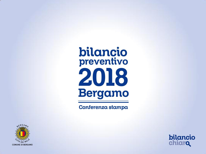 Il bilancio previsionale 2018 del Comune di Bergamo by ...