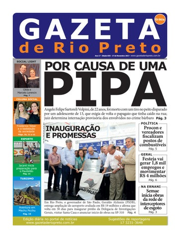 93d5a21892762 Gazeta de Rio Preto - 17 11 2017 by Social Light - issuu
