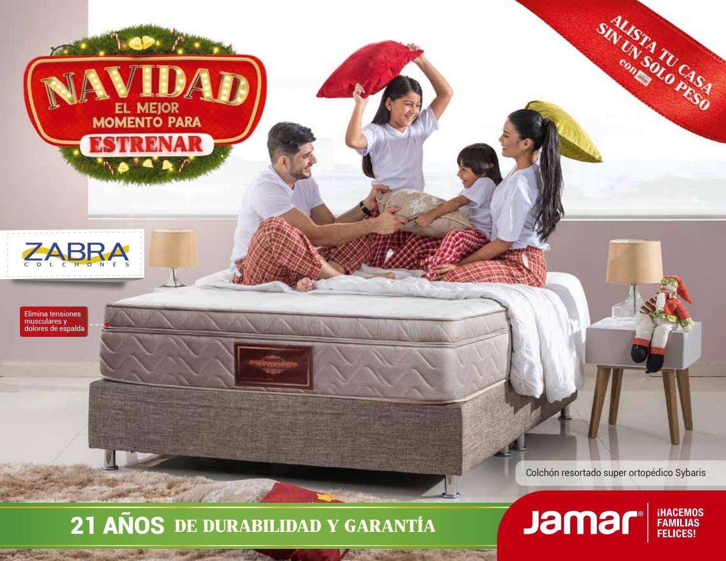 Cat Logo Colchones Navidad Jamar 2017 Barranquilla By Www Jamar  ~ Los Mejores Colchones Para La Espalda