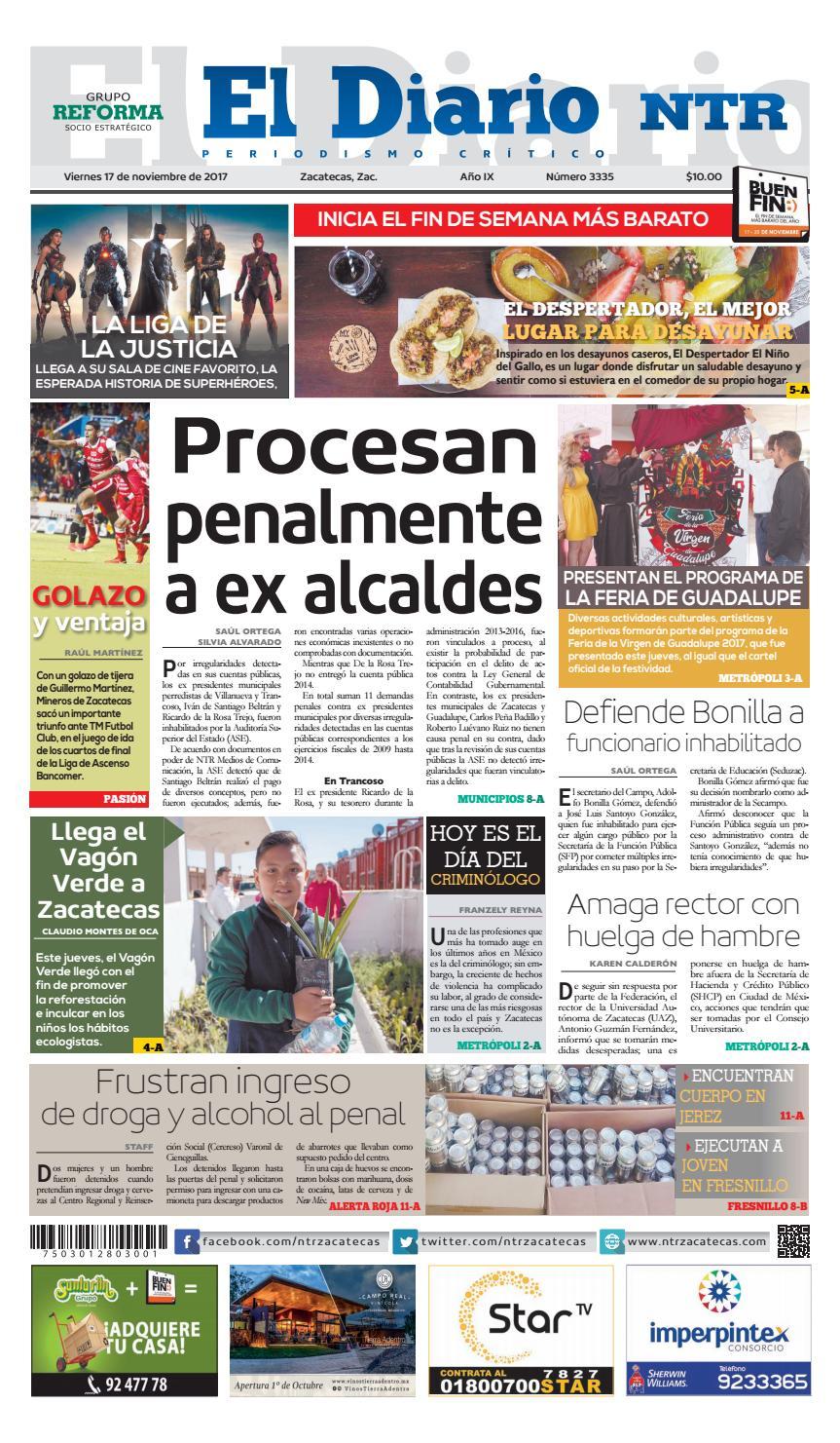 bb441cfee4c11 17112017 by NTR Medios de Comunicación - issuu