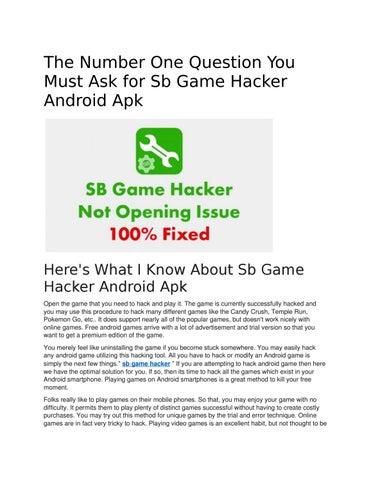 free download apk sb game hacker