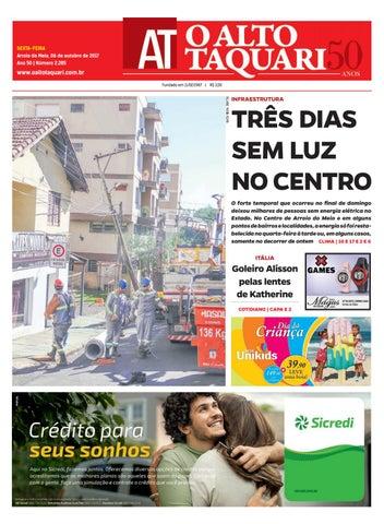 f3b0dedb0fb94 Jornal O Alto Taquari - 06 de outubro de 2017 by Jornal O Alto ...