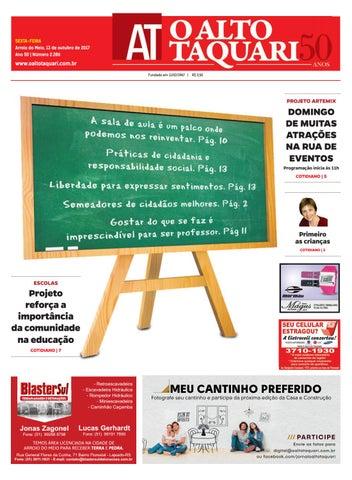 21feebce9 Jornal O Alto Taquari - 13 de outubro de 2017 by Jornal O Alto ...