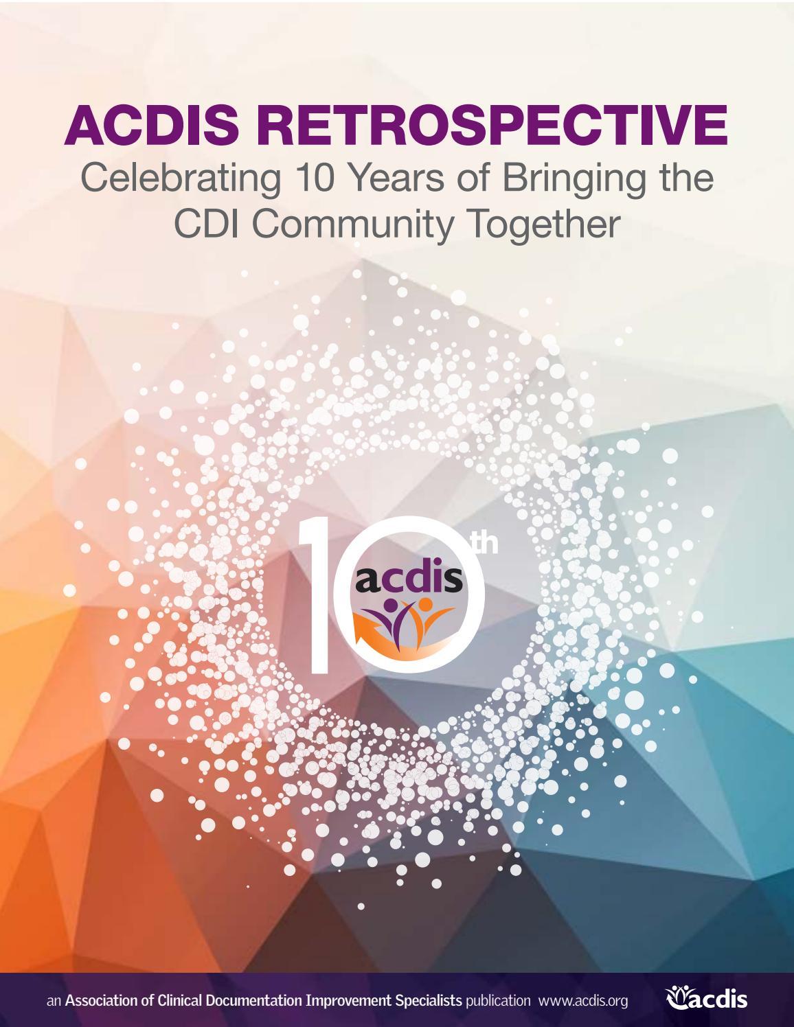 Acdis Turns 10 By Acdis Issuu