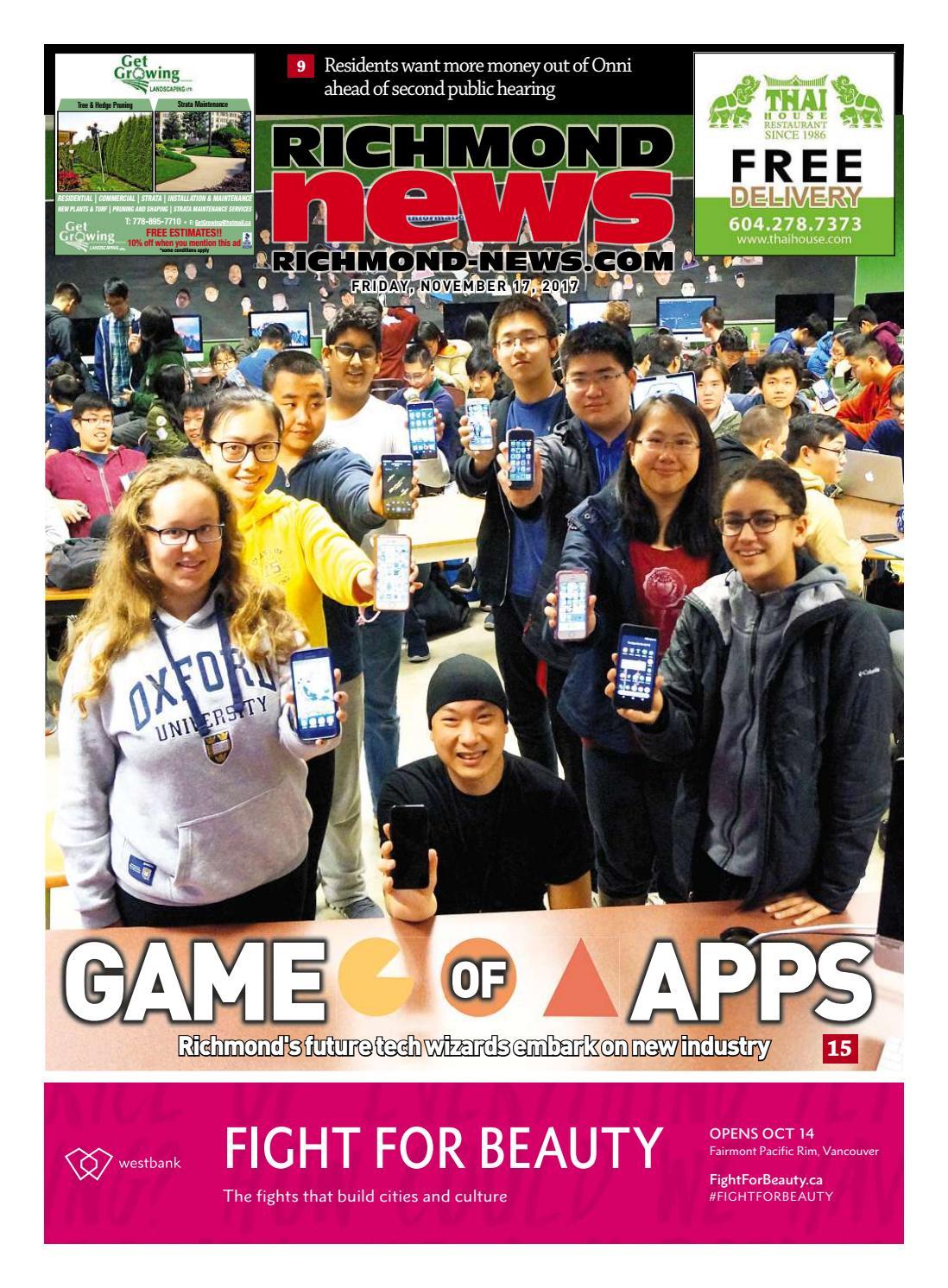 Richmond News November 17 2017 by Richmond News - issuu