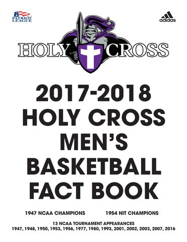 4bfb49e77ac 2017-2018 Holy Cross Men's Basketball Fact Book by Holy Cross ...