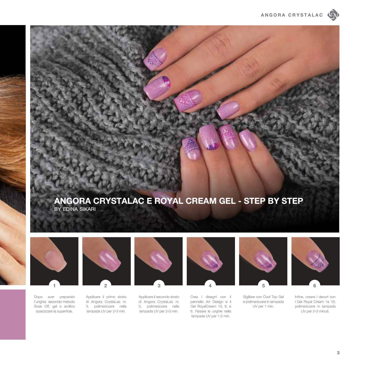 CRYSTAL NAILS - Inverno 2017/18 by NONSOLOUNGHIE.COM - issuu