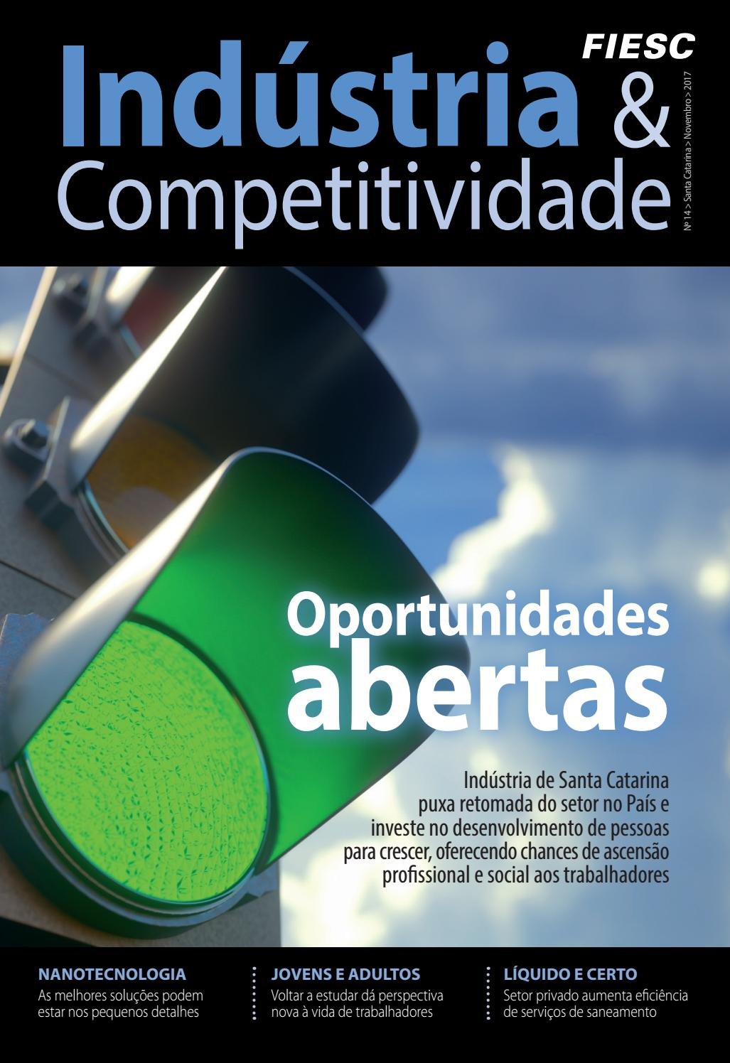 2fad14e74486e Revista Indústria e Competitividade FIESC - 14ª Edição by FIESC Publicações  - issuu