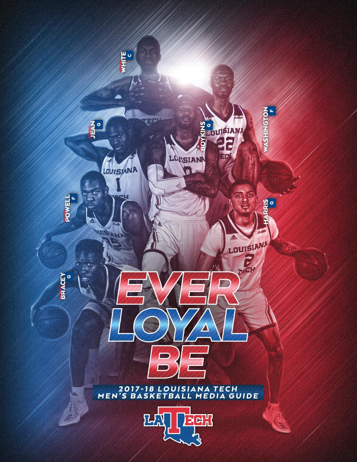 2017-18 Louisiana Tech Men's Basketball Media Guide by Louisiana Tech  Athletics - issuu