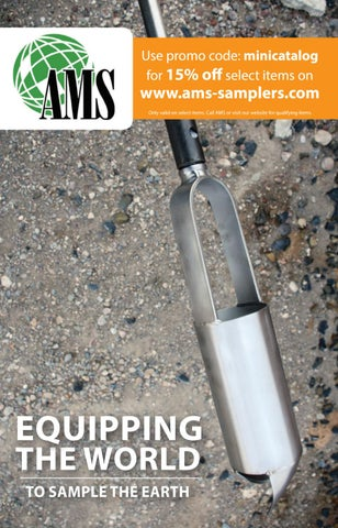 """AMS EZ Eject Soil Probe 1-1//8"""" x 33"""""""