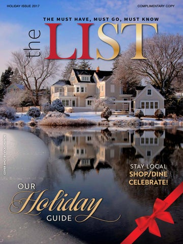 f22329e625 The List Magazine - Holiday Issue 2017