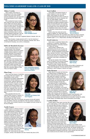 Page 13 of Leadership Oakland Class of 2018 Convenes