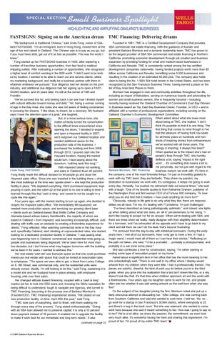 Page 4 of Small Business Profile: Barbara Morrison, TMC Financing
