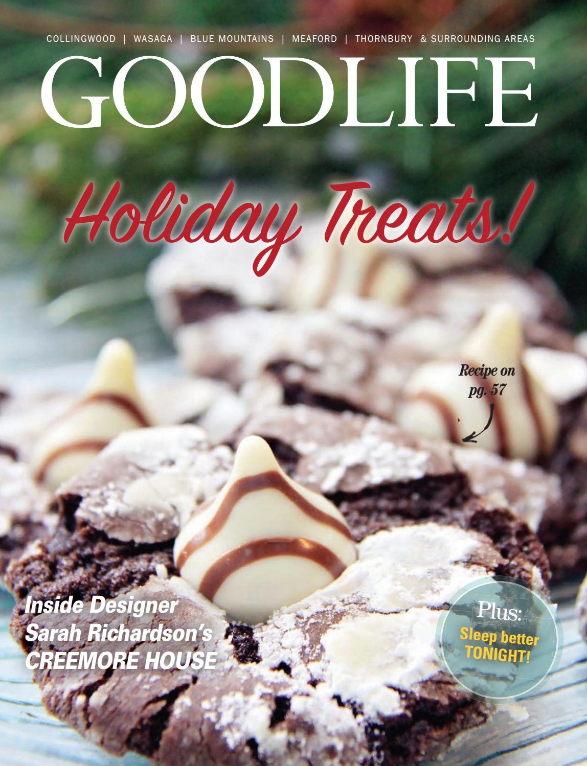 GOODLIFE GEORGIAN BAY WINTER 2017 by GoodLife Magazine - Simcoe County -  issuu