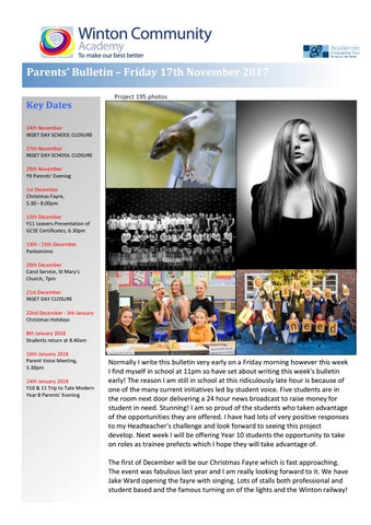 Parent 171117 by Winton Community Academy - issuu
