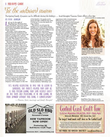 New Times Holiday Guide 2017/2018 by New Times, San Luis Obispo - issuu