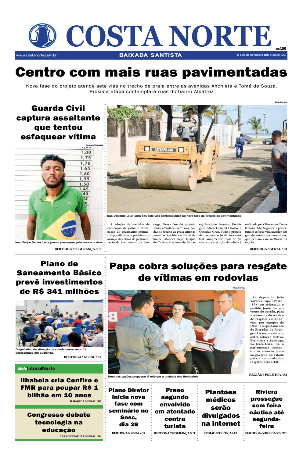 52eb280c3f5 Jornal costa norte 1466 by Costa Norte - issuu