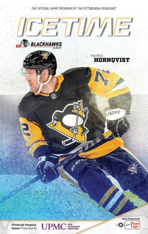 82a3e31e217 THE OFFICIAL GAME PROGRAM OF THE PITTSBURGH PENGUINS® PITTSBURGH PENGUINS  VS. CHICAGO BLACKHAWKS • 11.18.17 • GAME 08