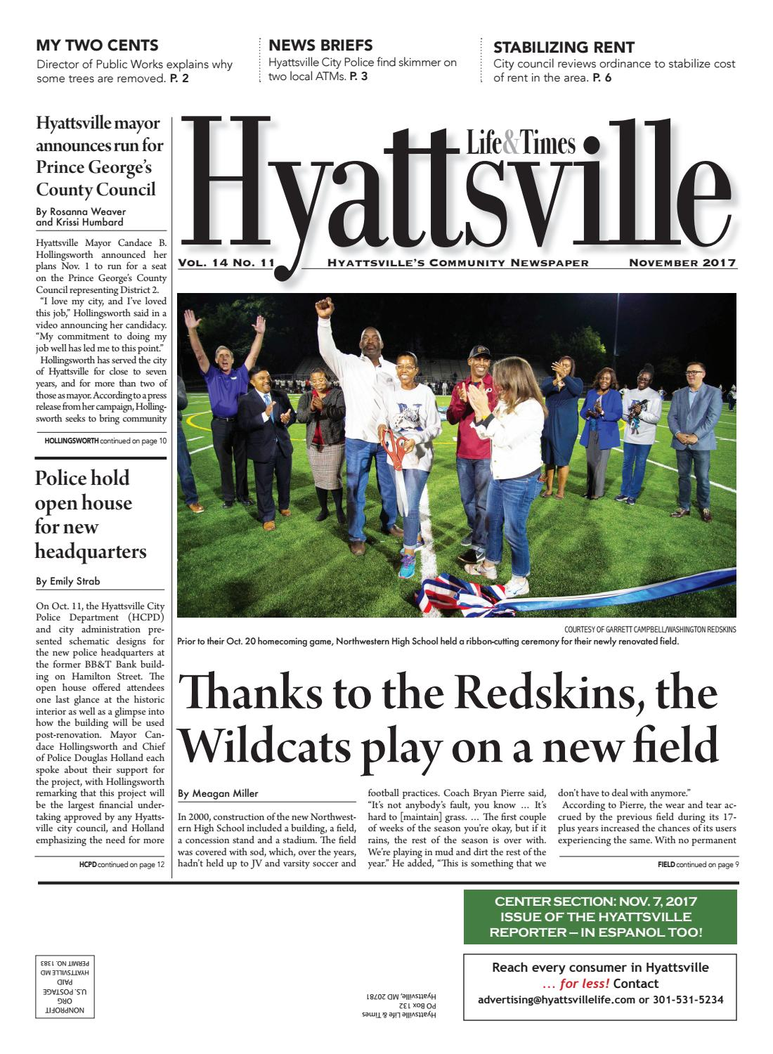 November 2017 Hyattsville Life & Times by Hyattsville Life and Times