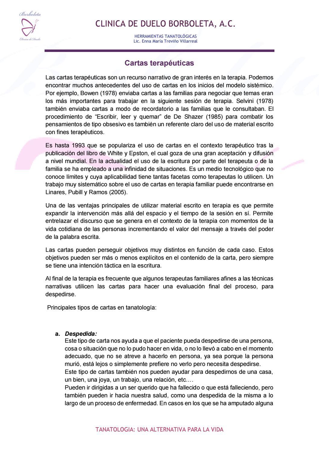 cartas terape u00faticas by tanatolog u00eda  borboleta