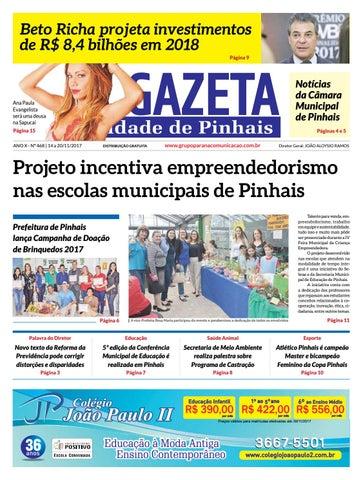A Gazeta Cidade de Pinhais - Edição 468 by Grupo Paraná Comunicação ... 5d67a48e74