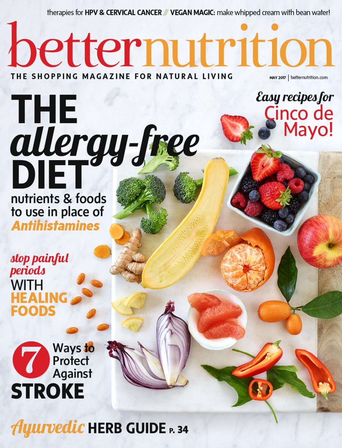 Betternutrition May2017 By Active Interest Media Healthy Living Happy Baby Organic Puffs Combo C Strawberry Beet Sweet Potato Group Retail Division Issuu