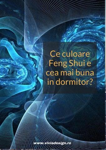 Culori In Feng Shui.Ce Culoare Feng Shui E Cea Mai Buna In Dormitor By Vivia Design Issuu