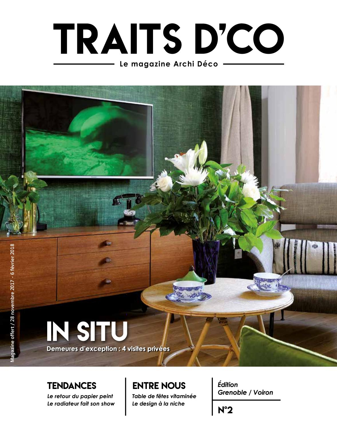 traits dco magazine grenoble voiron n2 novembre 2017 by traits d 39 co issuu. Black Bedroom Furniture Sets. Home Design Ideas