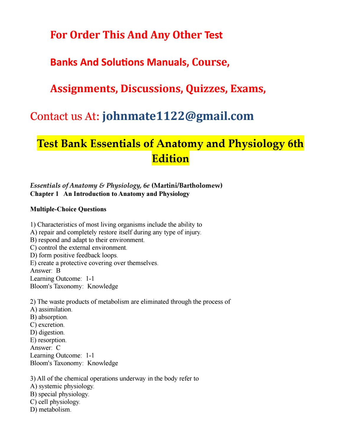 Test%20bank%20essentials%20of%20anatomy%20and%20physiology%206th ...