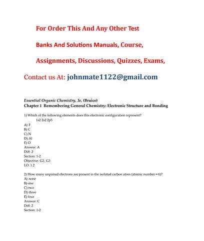 Test%20bank%20essential%20organic%20chemistry%203rd%20edition by