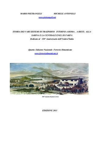 2fed9516f6470 Ferrovie sabine e della valle del tevere by Istituto Studi Sabini ...