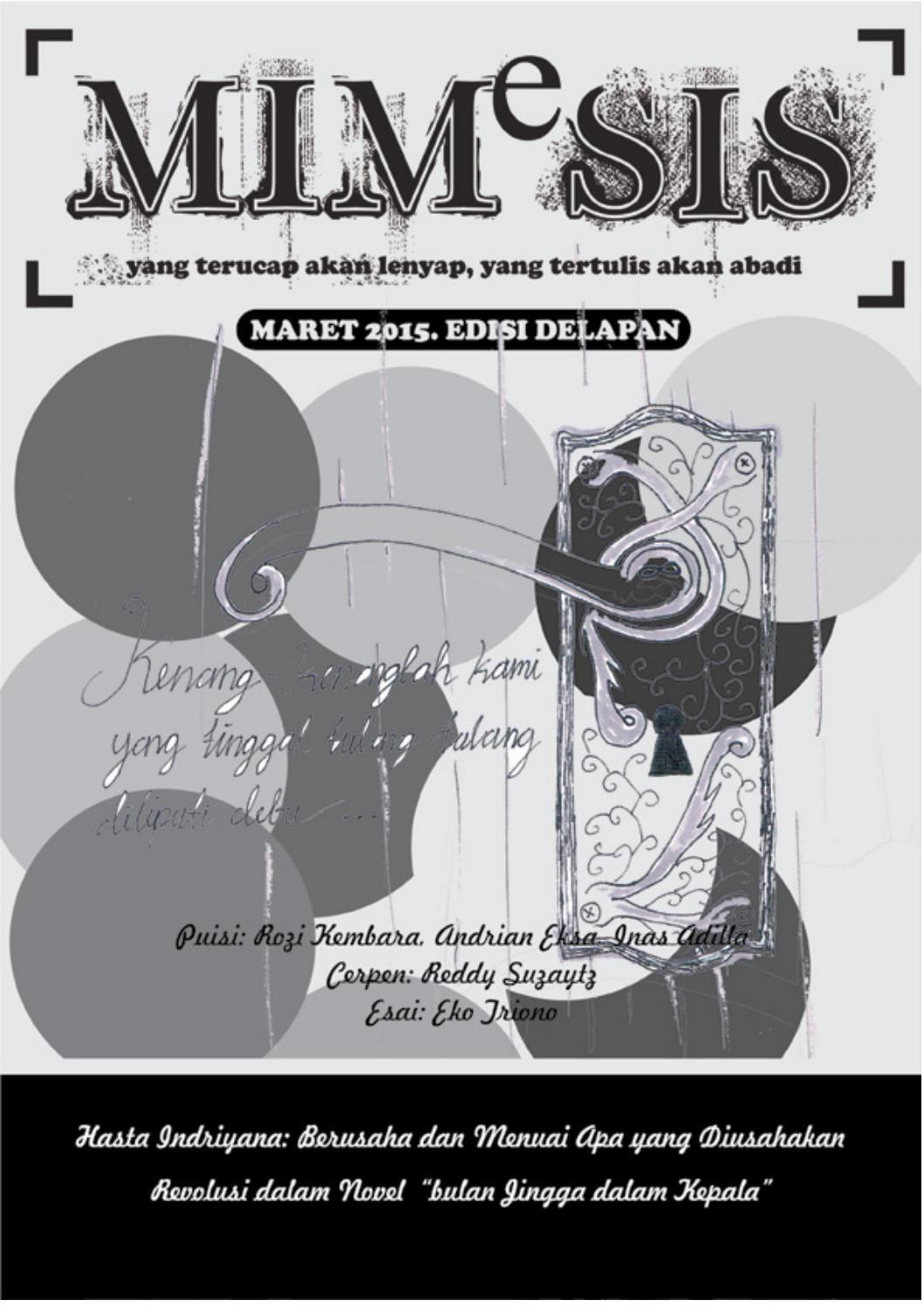 Buletin Mimesis Edisi 8 By Susastra KMSI Issuu
