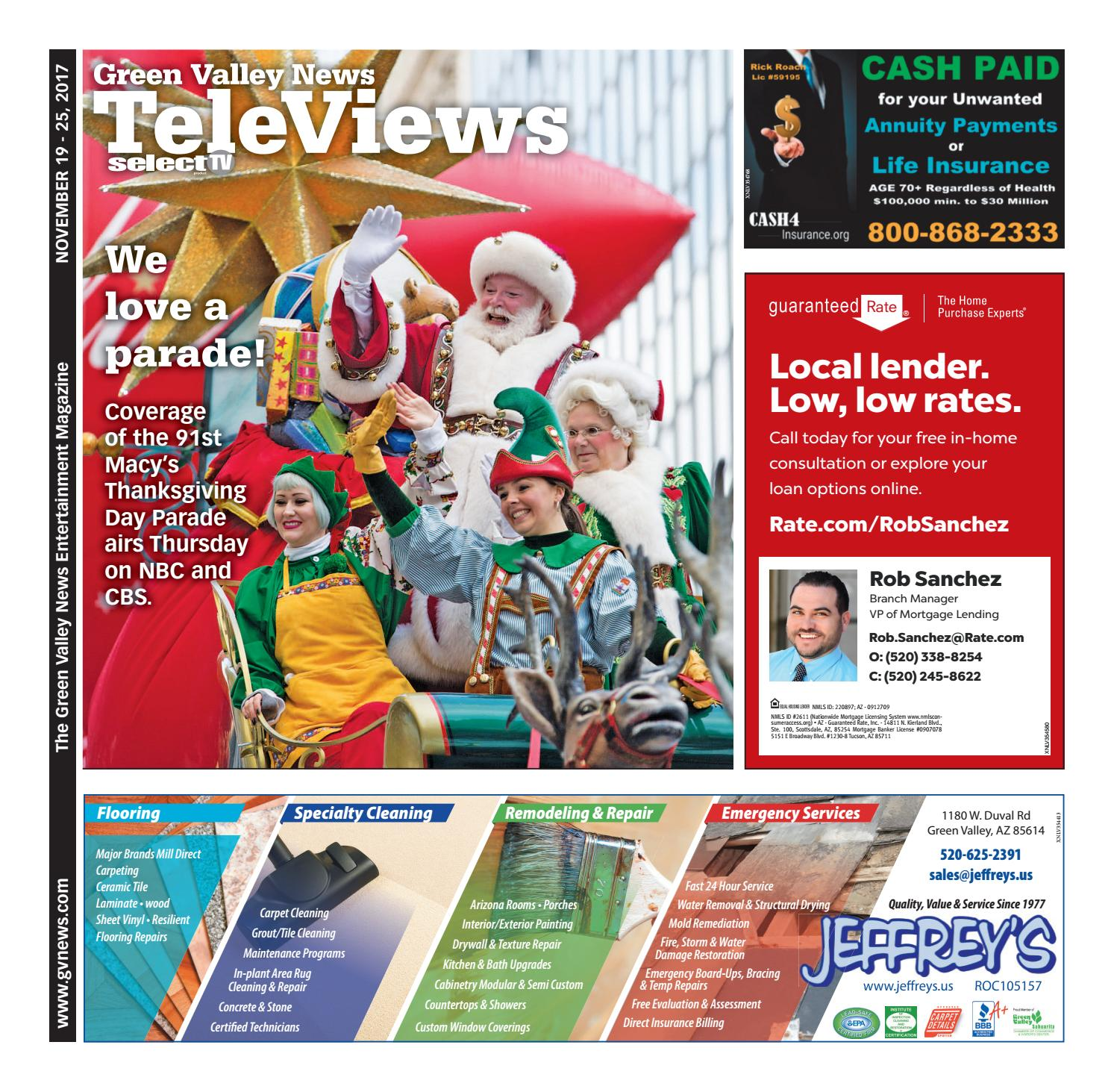 Televiews: Sunday, November 19, 2017
