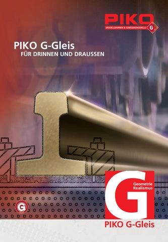 NEU Piko G 35217 Gebogenes Gleis R7 15° r = 1564,6 mm
