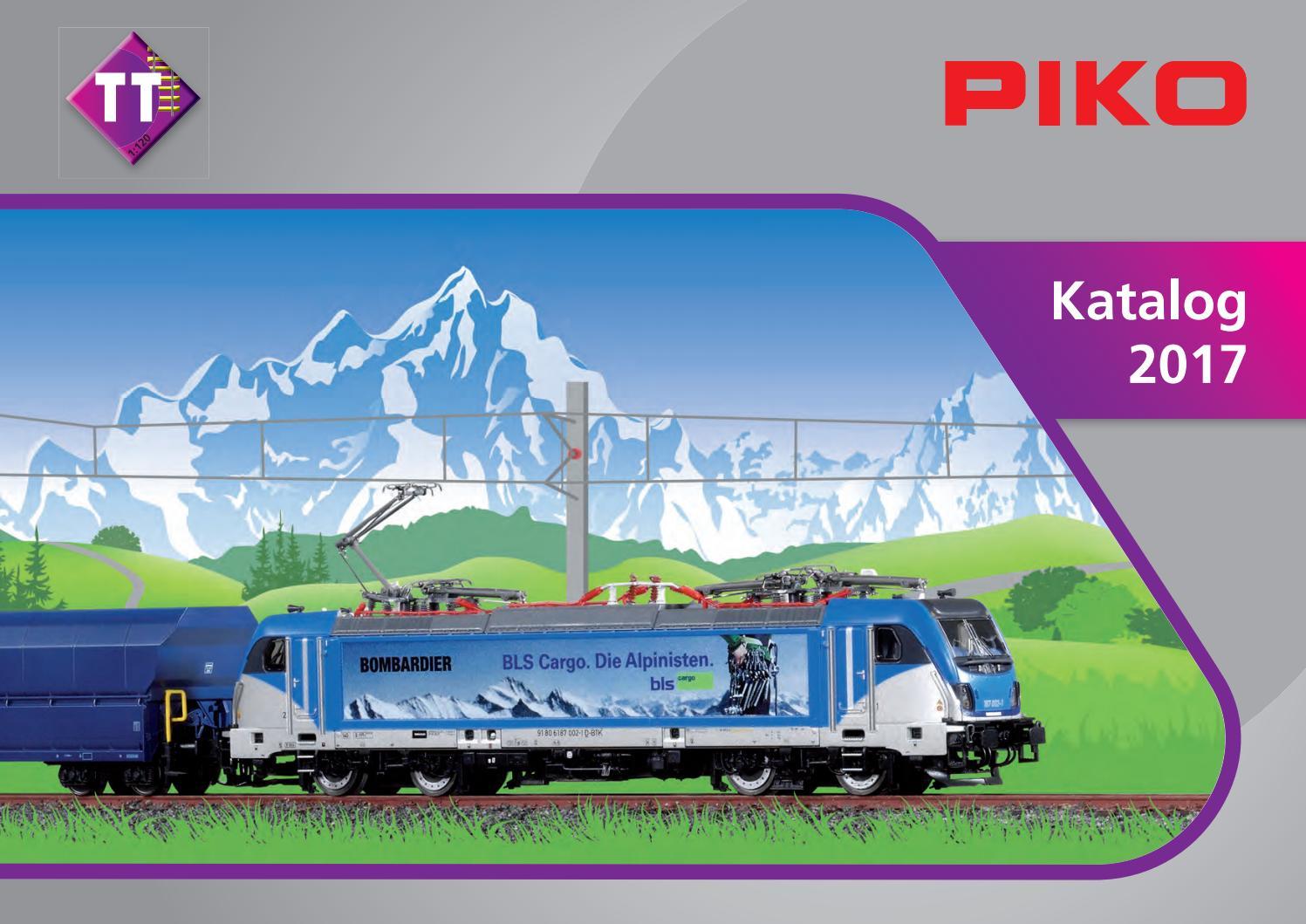 Spur TT Epoche III PIKO 47360 Diesellok V 60.10 der DR