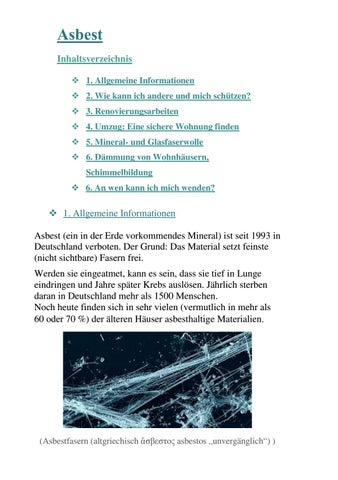 asbest probe