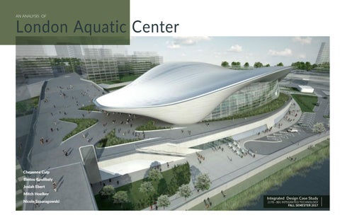 London Aquatic Center Case Study by Bintou C  Coulibaly - issuu