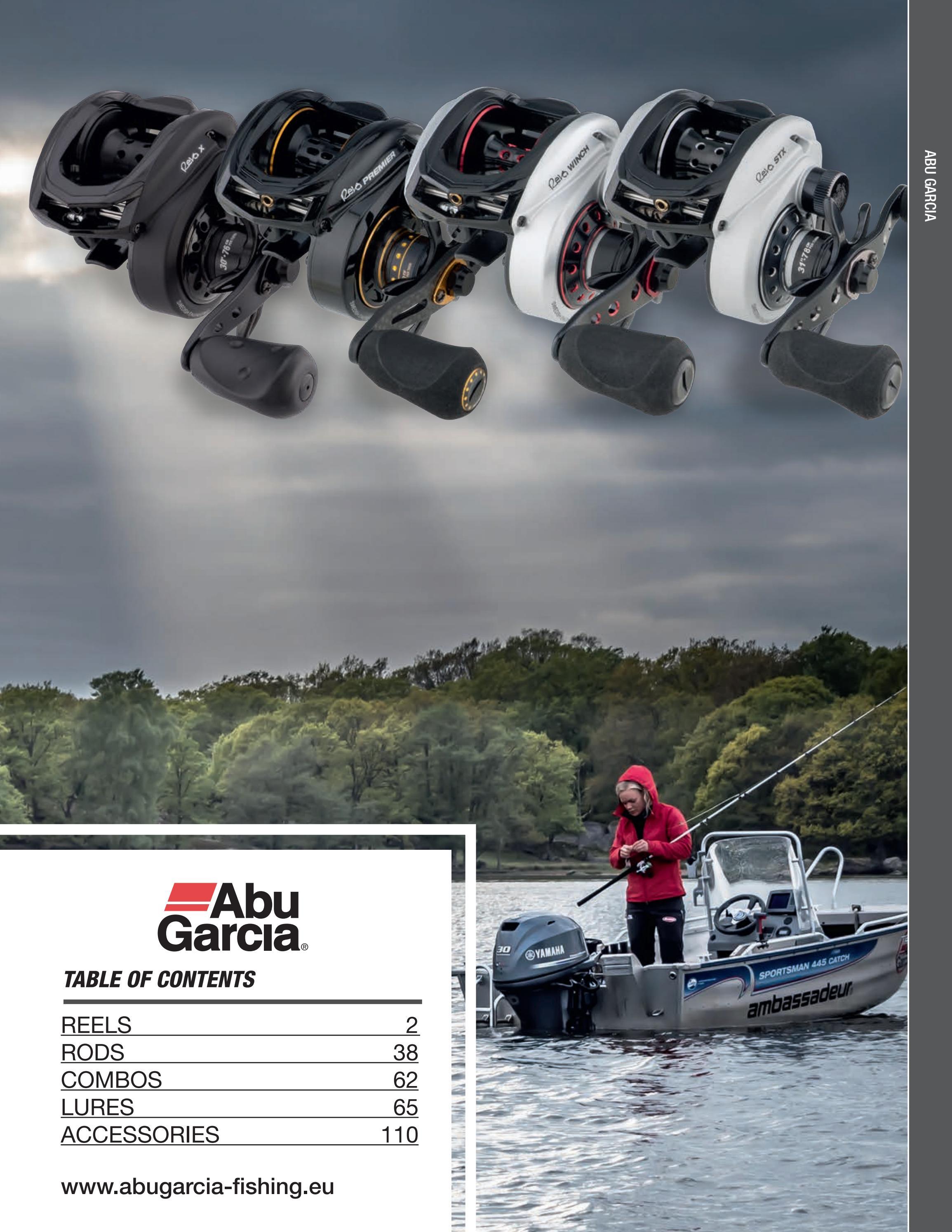 BO ABU Garcia Revo S Baitcaster Fishing Reel Ceramic Ball Bearing set