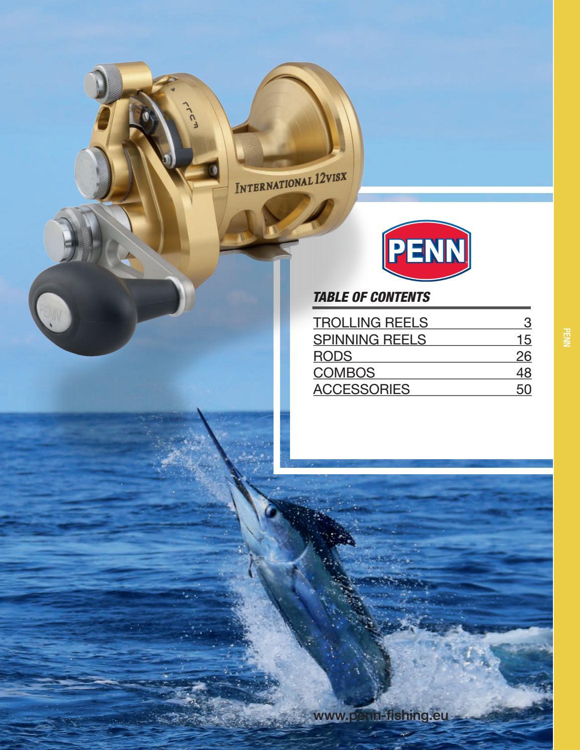 Penn WARFARE WAR30LWLCLH Levelwind Conventional Reel LEFT HAND FISHING REEL NEW