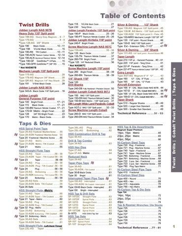 39 Dia-4-5//8 OAL-Black Oxide-HSS-Stnd Taper Lgth Drill