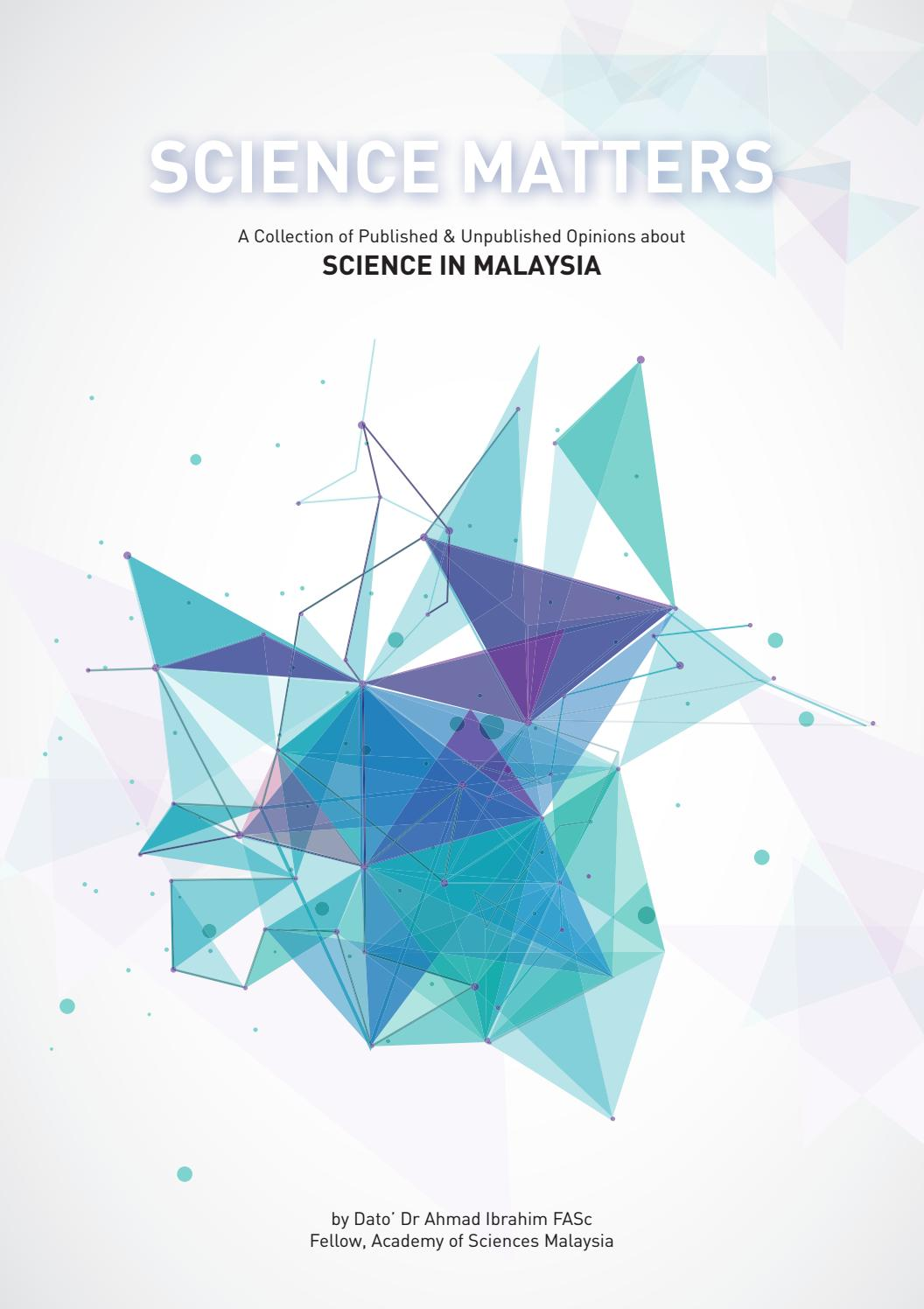Science Matters by Academy of Sciences Malaysia - issuu