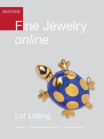 070c9397d Fine Jewelry online | Skinner Auction 3056T by Skinner, Inc. - issuu