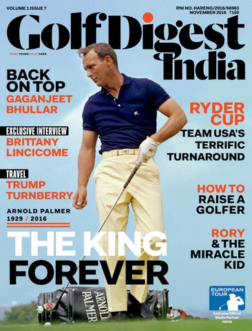 82e64c04afcf Golf Digest India - November 2016 by Golf Digest India - issuu