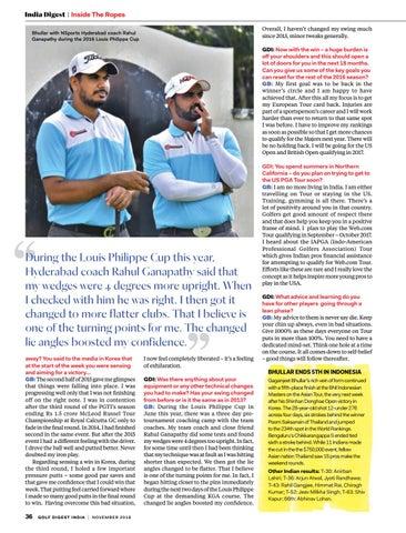30973260793c Golf Digest India - November 2016 by Golf Digest India - issuu