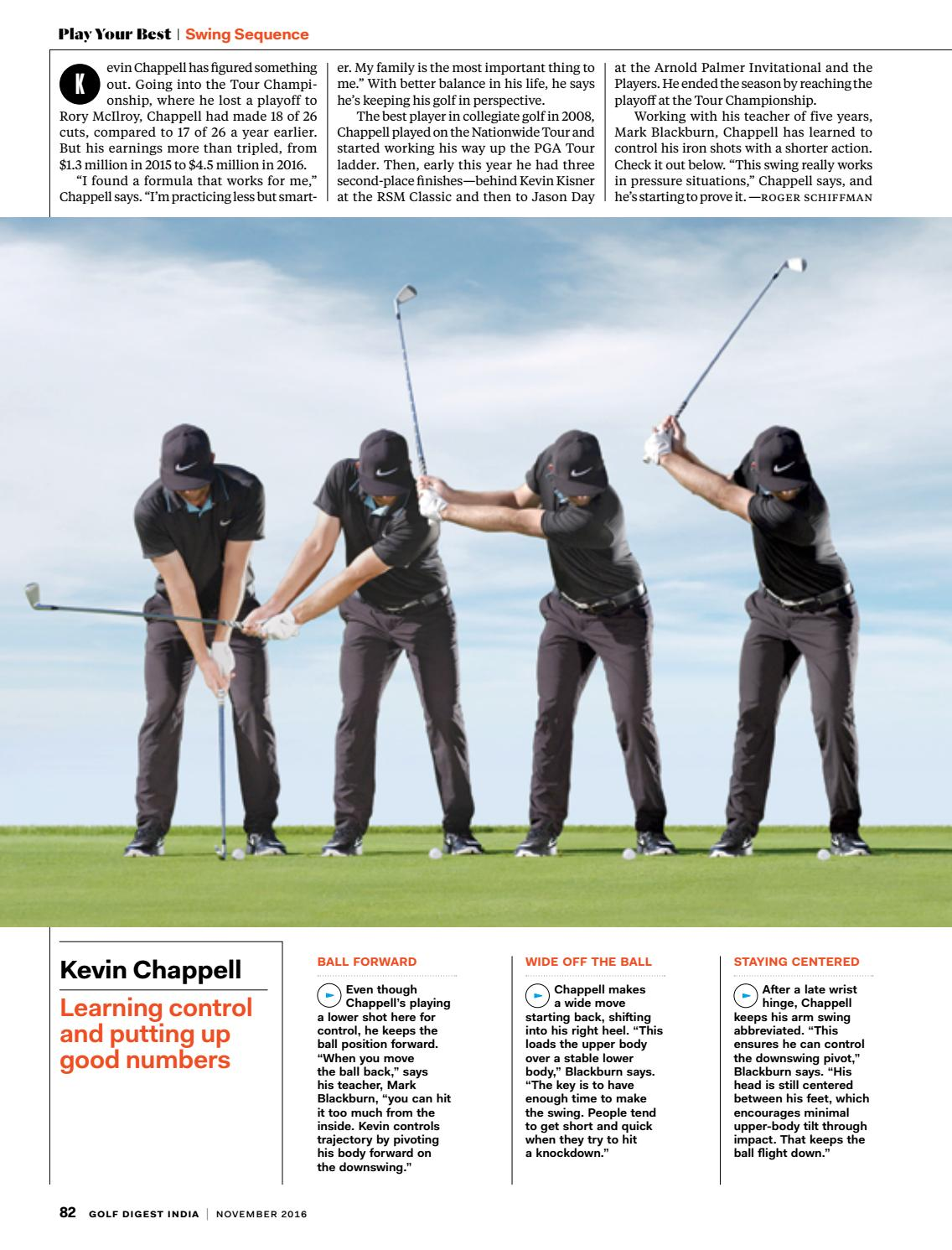Golf Digest India November 2016 By Golf Digest India Issuu