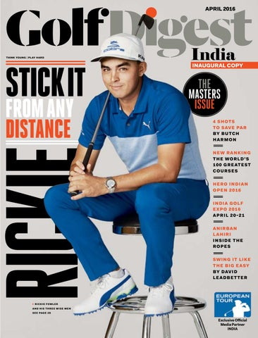 quality design 52bd3 b3926 Golf Digest India - April 2016 by Golf Digest India - issuu